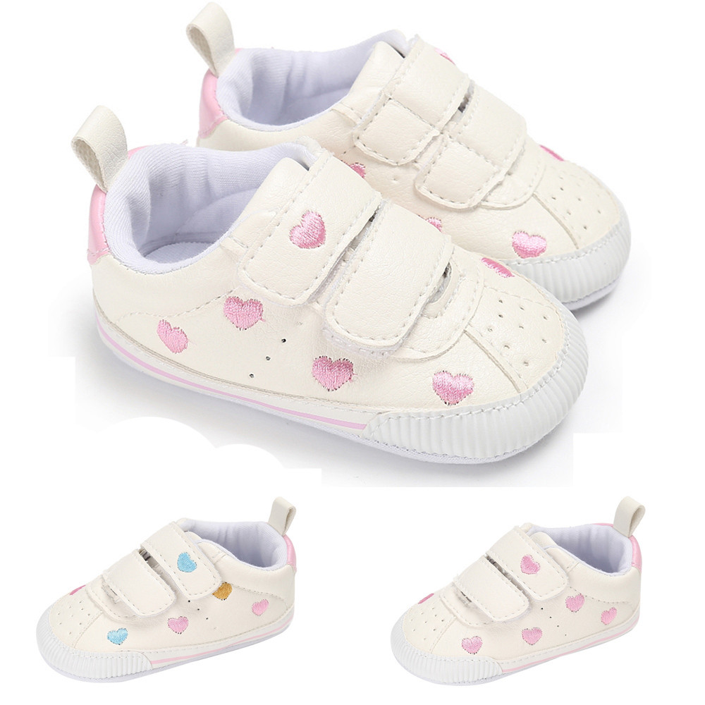 Toddler Girl Crib Newborn Soft Sole Anti-slip Baby Shoes Sneakers baby born doll shoes