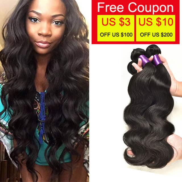 High Quality Brazilian Virgin Hair Body Wave True Glory Bundles 100 Human