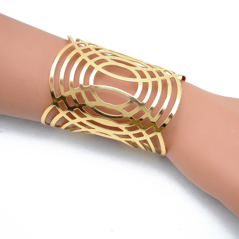 New Metal Totem Arm Cuff Adjustable Open Bracelets Carter Love Bangles pulseiras for Women Jewelry