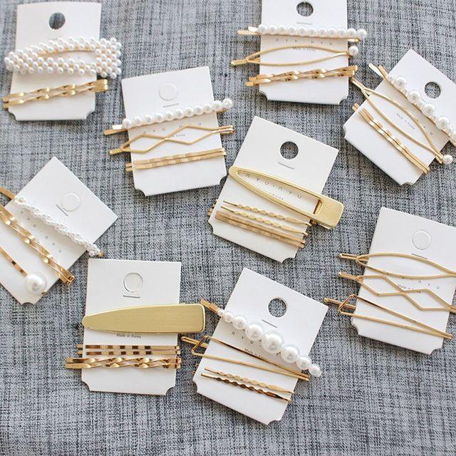 3 unids/set perla Metal horquilla tocado accesorios belleza estilo herramientas nueva llegada