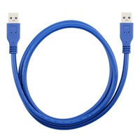 0.3-5M USB 3.0 Type A Male to Type A Male Extension Data Wire Computer Cables Cord Connectors Computer Cables & Connectors