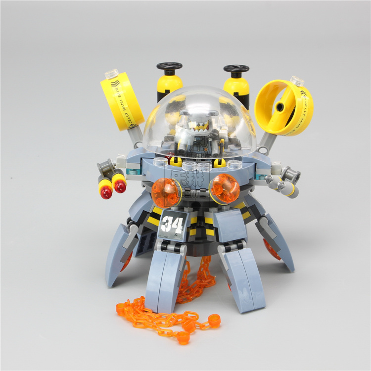 Lepin 06062 Garma Mecha Man building Blocks Brick for children Toys Set Boy Game Team Castle Compatible with Decool bela 70610 lepin 02012 city deepwater exploration vessel 60095 building blocks policeman toys children compatible with lego gift kid sets