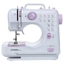 Швейная машина FIRST FA-5700-2 Purple (Встроенный нитеобрезатель, кнопка реверса,обратный ход, обратный шов, освещение, подсветка рабочей поверхности, cъемная прижимная лапка)