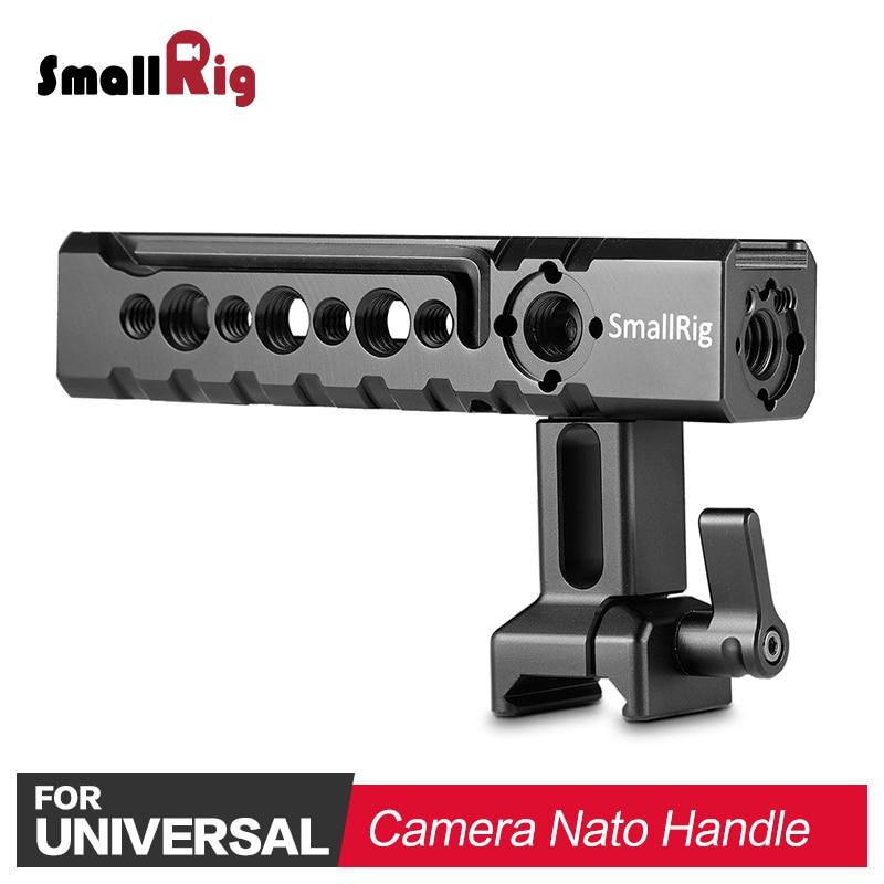 SmallRig Quick Release Nato Handle Bar DSLR Camera Handle Grip Stabilizer for SmallRig BMPCC 4K Cage / A6500 Cage 1955