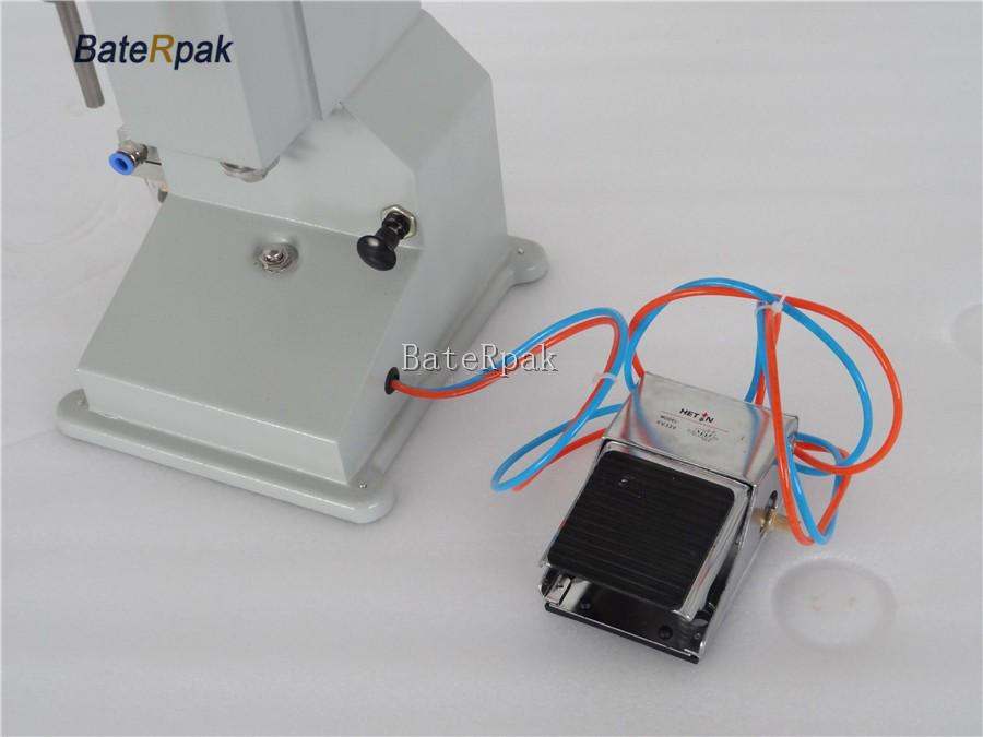 Купить BateRpak A02 нержавеющая сталь Пневматический вставить разливочная machine.5-50 мл, емкость бака 10 кг дешево