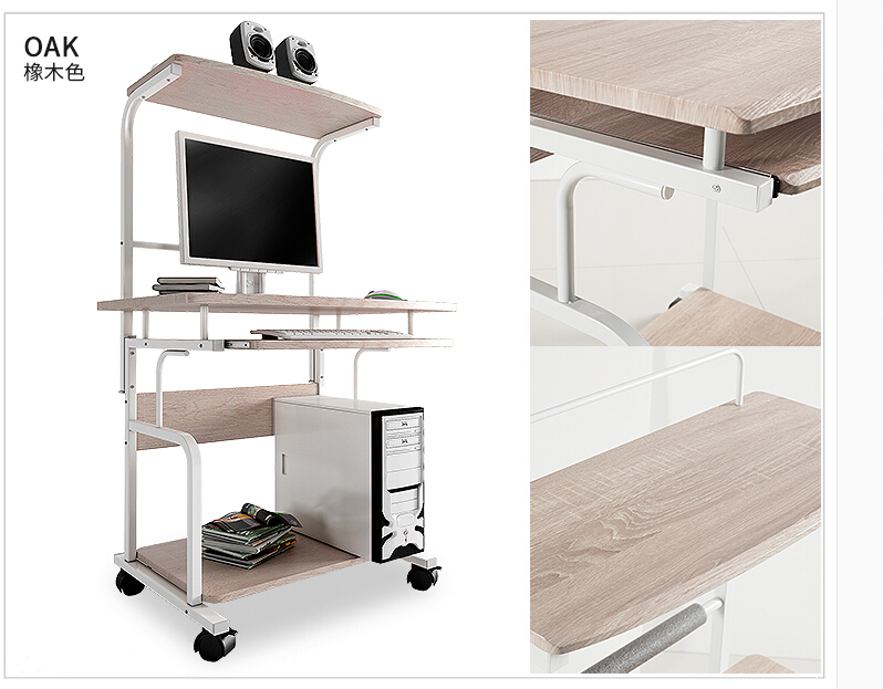 High Quality Double Computer Desk. Desktop Household. Desk. Movable Table  In Computer  Desks From Furniture On Aliexpress.com | Alibaba Group