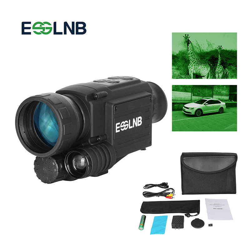 Hunting Night Vision Device 4.5 x 40 Infrared Military Tactical Monocular Powerful HD Digital Vision Monocular Night Vision