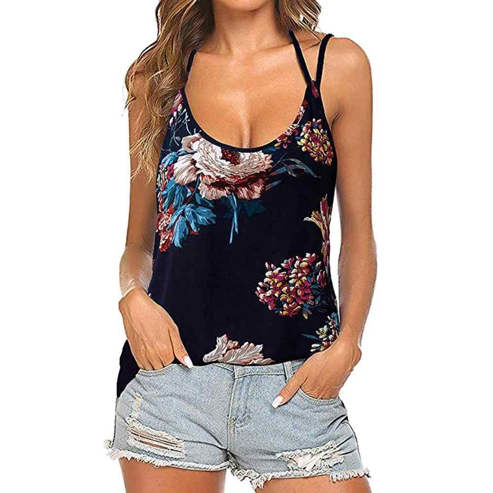 חדש נשים גופיות טוב Vibes O-צוואר טנק 2019 קיץ ללא שרוולים נשי שחור מזדמן גופיות אופנה Femme גבירותיי חולצות teeTT5