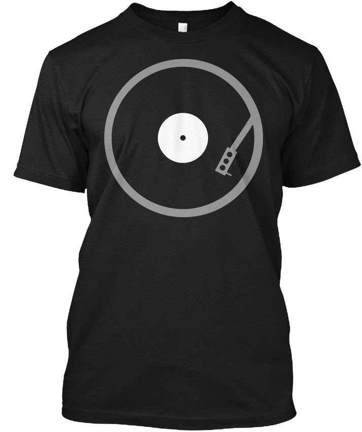 Record Player For Vinyl Lovers Audiophile Dj Popular Tagless Tee T-Shirt