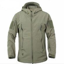 Высокое качество скрытый Акула кожа мягкая оболочка TAD V 5,0 Военная тактическая куртка водонепроницаемая ветрозащитная армейская куртка-бомбер одежда