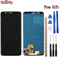 BKparts For Oneplus 5t Five T A5010 6.01 Inch LCD Display Touch Screen Glass Digitizer Complete Assembly Replacement