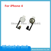10pcs/lot For iPhone 4 / 4G Home Button Flex Cable Mobile Phone Flex Cables free shipping