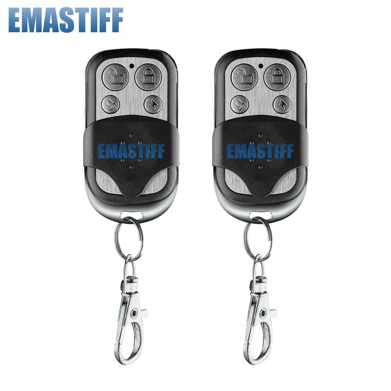 free shipping.2 Pcs/Lot Best selling Long Distance Wireless Alarm Remote Controller for  433mhz gsm pstn alarm system hot selling for toyota ecu self learn tool free shipping with best price shipping free