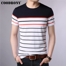 COODRONY T Shirt Men Short Sleeve T-Shirt Clothing O-Neck Tee Homme 2019 Summer Streetwear Casual Mens S95026
