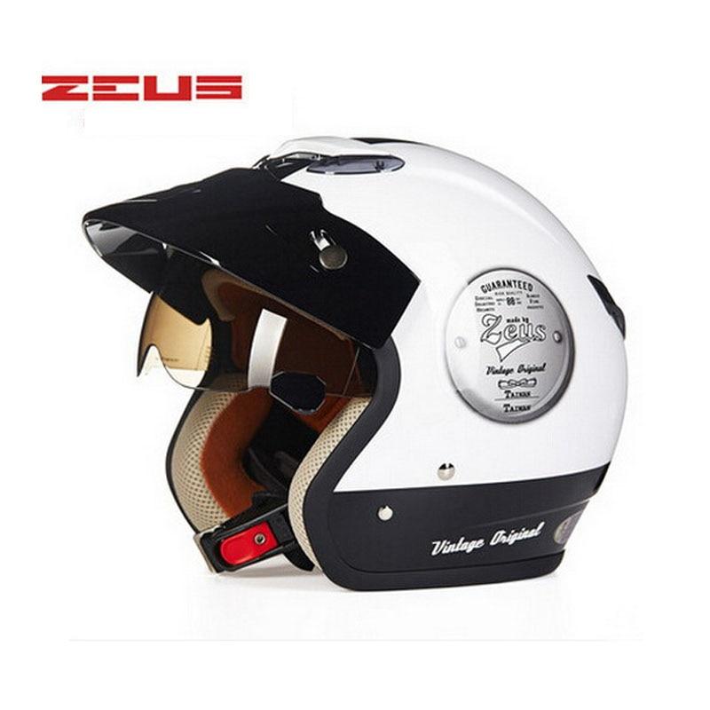 ZEUS ներքին UV Visor բաց դեմքի ինքնաթիռի - Պարագաներ եւ պահեստամասերի համար մոտոցիկլետների - Լուսանկար 6