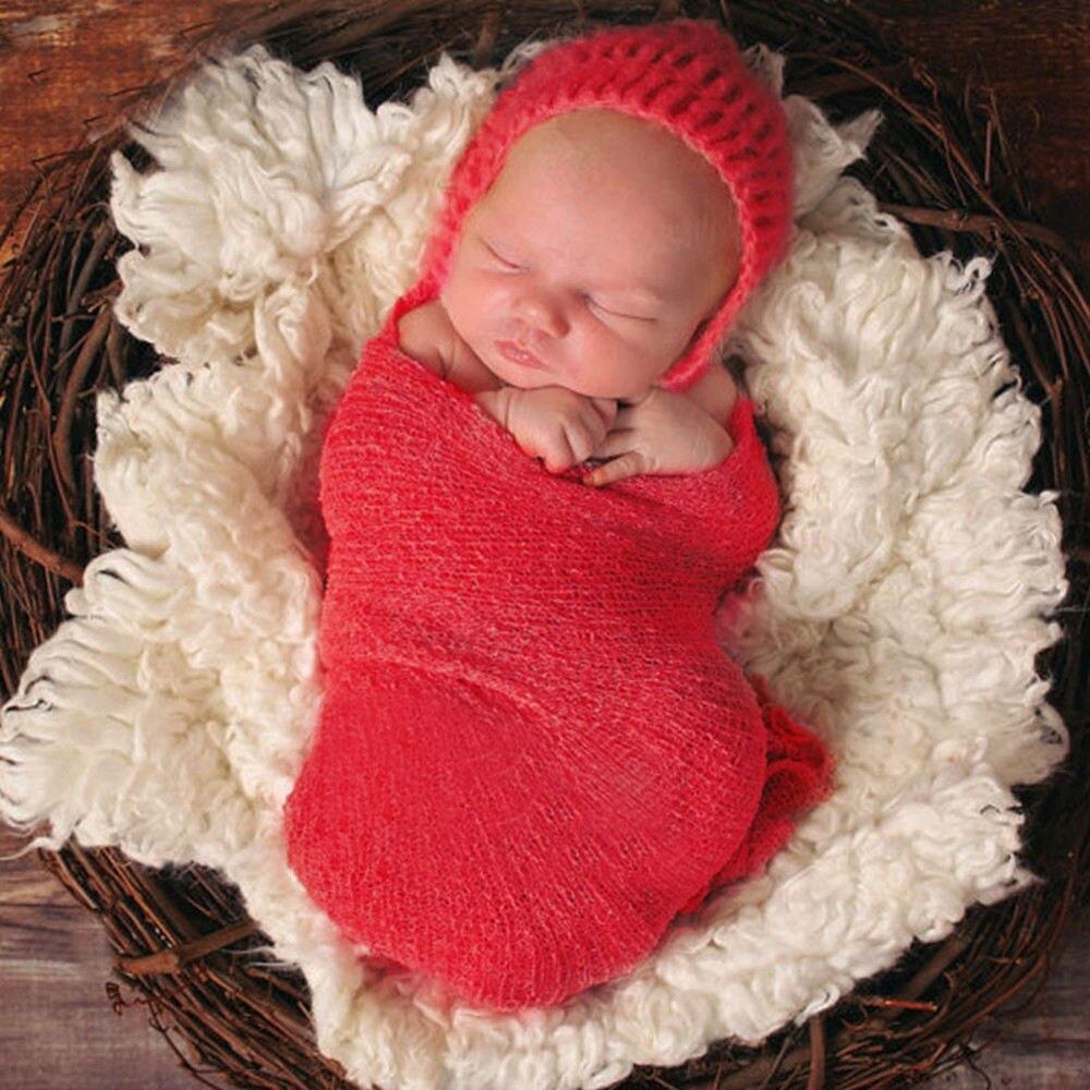 Baby Fotografie Prop Pasgeboren Verpakt Baby Foto Accessoires Baby - Babykleding - Foto 1