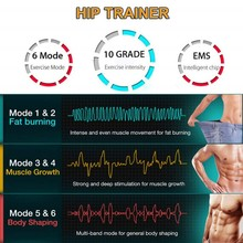Effective Stimulator Smart Fitness Equipment Accessories Beauty Hip Training Device Electric Weight Loss Stickers Body Shaping