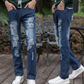 High Quality!in 2015 The New Autumn Casual Jeans Skinny Jeans For Men High Quality Holes Of Jeans