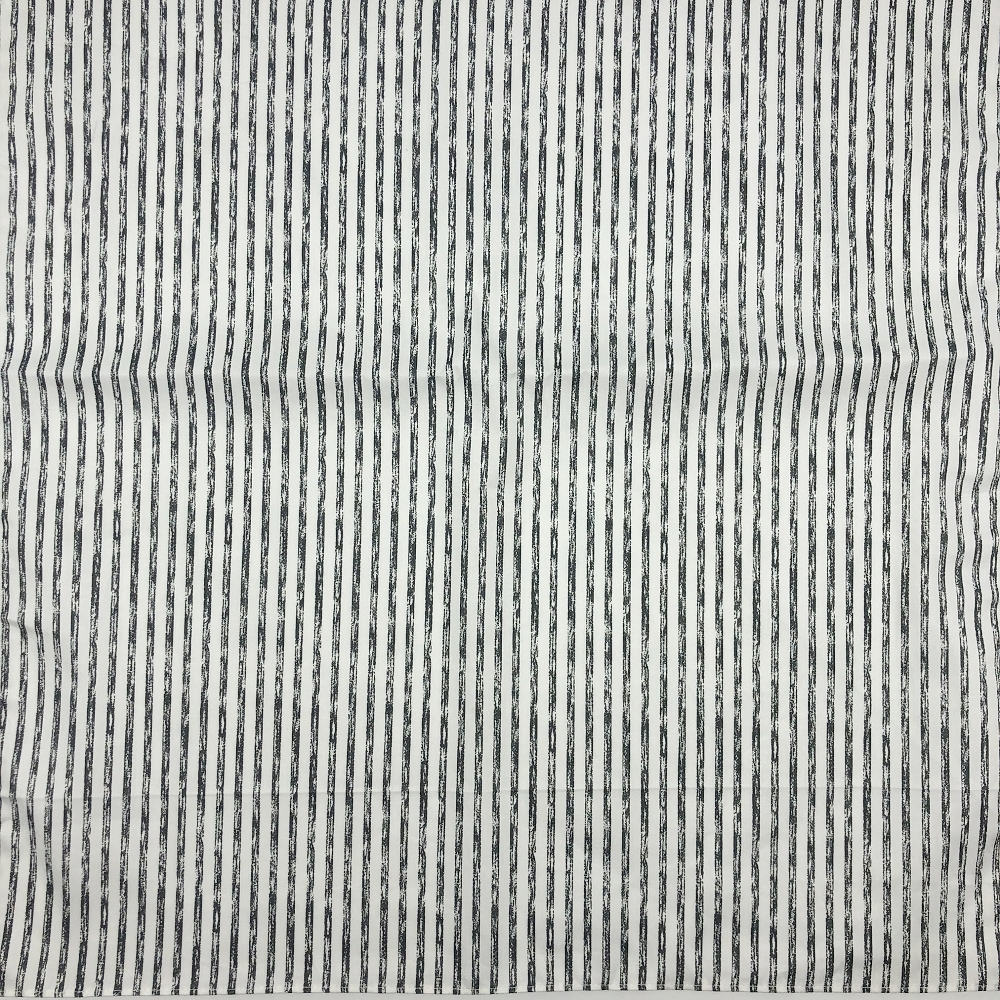 Black and white stripe printed bandanas headbands Furoshiki scarf handkerchiefs Placemat So Many Uses/100% Cotton Size 48cm(+-1)