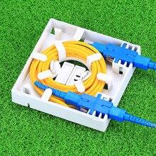 KELUSHI bán buôn FTTH FTTH bảng điều khiển sợi sợi quang nối thiết bị đầu cuối hộp 86 thông tin tấm 86 Máy Tính Để Bàn Hộp 30 cái/lô