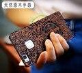Уникальный Huawei P9 lite Case Тонкий Резные Бамбук Дерево PC Back Cover Case For Huawei P9 Lite G9 Lite 5.2 Телефон Случаях
