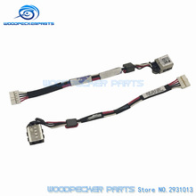 Free delivery DC energy jack connector with cable match for Dell For Latitude 3450 collection laptop computer dc socket port CN-0RP8D4 RP8D4
