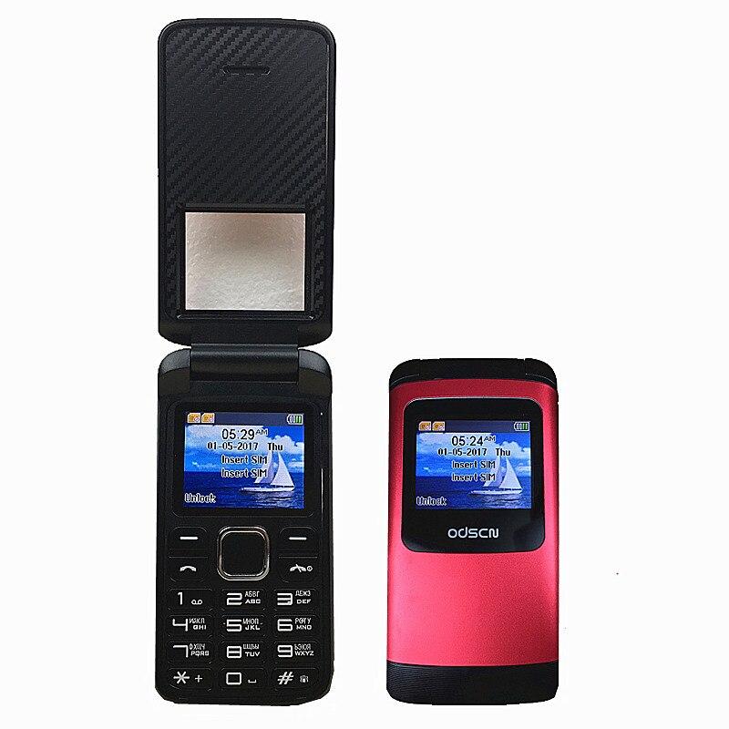 Original flip russische tastatur günstige handy gsm china Telefon ODSCN T400