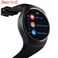 Smartch KW18 Bluetooth Smartwatch Support SIM TF Card Smart Watch Android/IOS Heart Rate Monitor Watch wearable devices SB02