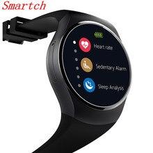 Smartch KW18 Bluetooth SmartWatch Поддержка SIM карты памяти смарт-часы Android/IOS монитор сердечного ритма часы Носимых устройств SB02
