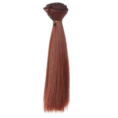 15 cm * 100 CM pelucas de la muñeca / pelo refuerza bjd pelo negro - Muñecas y peluches - foto 3