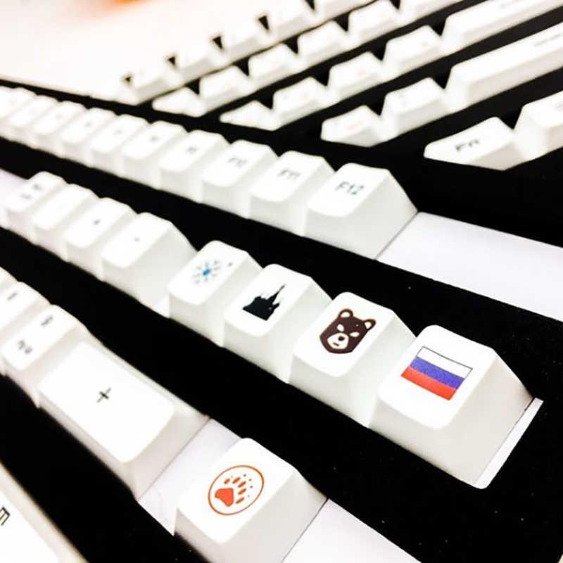 ロシア/韓国/日本キーキャップ桜染料昇華 OEM プロファイル熱 108 キー iso キャップチェリー Mx メカニカル