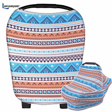 New Baby Breastfeeding Cover Car Seat Cover Canopy Shopping Cart Cover Multi-functional Trendy Scarf Breathable Nursing Cover