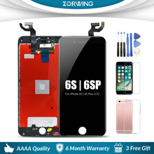 AAA 4.7 5.5 LCD Screen Display For iPhone 6 6S Plus Touch Replacement 5s S 6Plus Pantalla