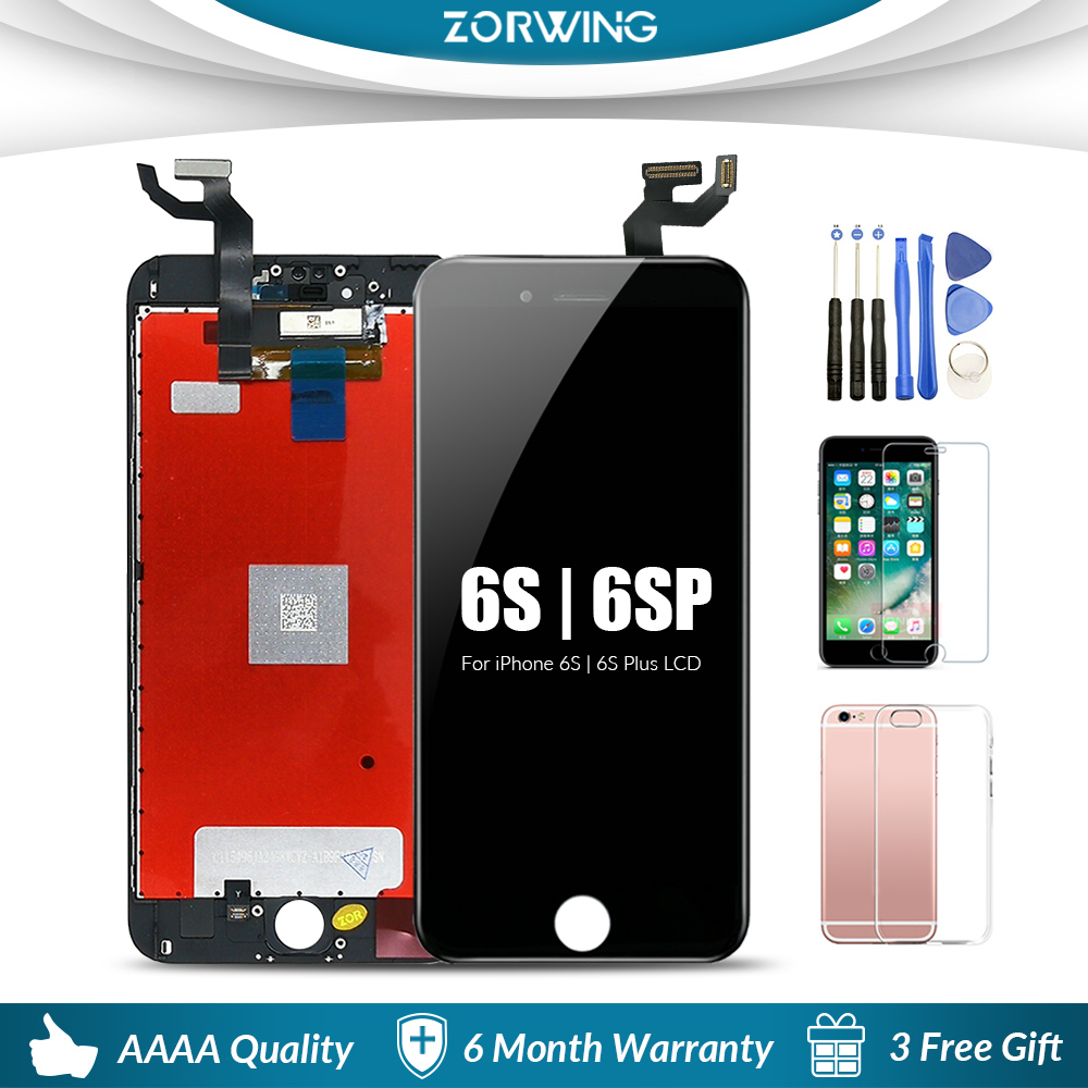 AAA 4.7 5.5 LCD Screen Display For iPhone 6 6S Plus LCD Touch Screen Replacement For iPhone 5s 6S 6 S 6Plus LCD Pantalla image
