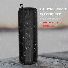IPX7 Waterproof Wireless Bluetooth Speaker Portable Outdoor Mini Column Bluetooth bicycle Speaker Hifi Subwoofer Bass Speaker(China)