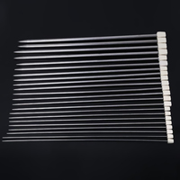 22pcs Stainless Single Pointed Knitting Needles 11Sizes 25cm Stainless Steel Knitting Needles Set Kit Smooth