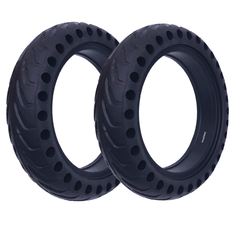 Xiaomi Mijia M365 Scooter Tyre Solid Hollow Tires Shock Absorber Non-Pneumatic Tyre Damping Rubber Tyres for m365 Bird Scooter