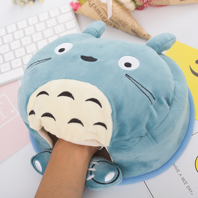 Multi-Function Desk pad-Rosered YLHLZZ USB Hand Warmer Mouse pad Detachable USB Heating Mouse pad Hand Warmer