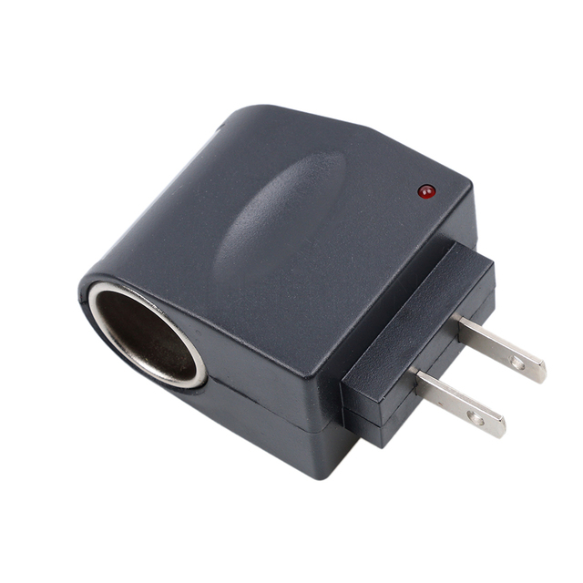 Kebidumei Car Cigarette Lighter Wall Socket Plug Adapter Converter 220v Ac To 12v Dc Eu Us Super Qaultiy In From Automobiles