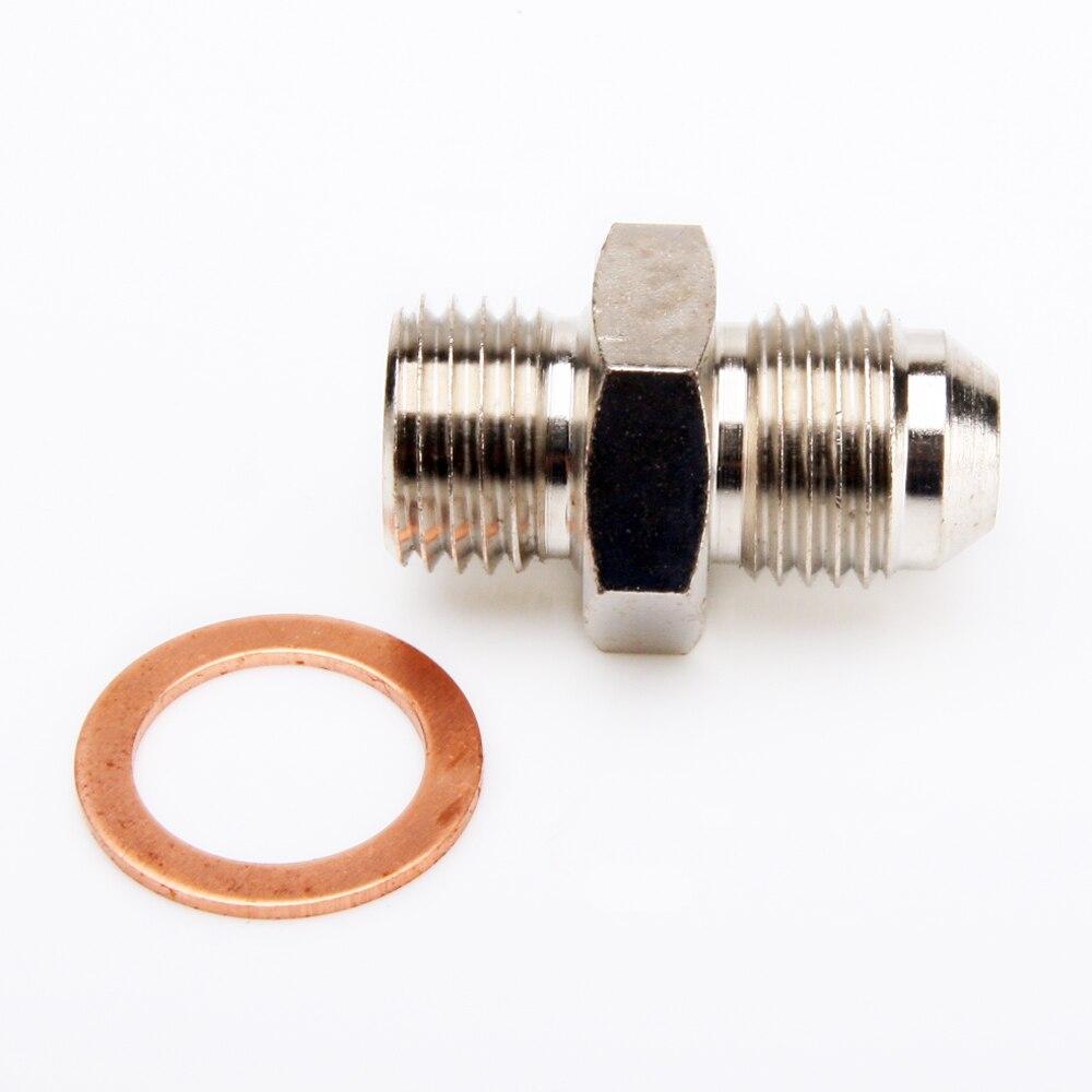 Turbo Oil Feed Line Kit For VOLVO//SAAB w//Stock TD04L TD04HL M12x1.5mm