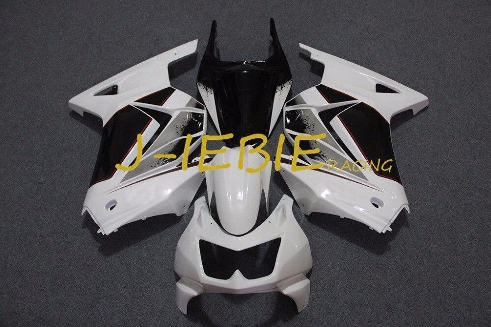 White Black Injection Fairing Body Work Frame Kit for Kawasaki NINJA 250R EX250 EX 250 R 2008 2009 2010 2011 2012