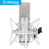Alctron CM6MKII Professional Condenser Wired Microphone Mic Sound Studio for Recording Kit KTV Karaoke with Shock Mount