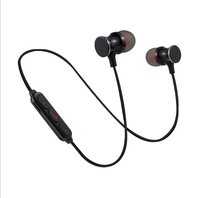 e06c251e9df Ostart Wireless Bluetooth Mini Magnetic In-Ear Earphones Binaural Stereo  Sound High-quality Noise Canceling Sports Headset