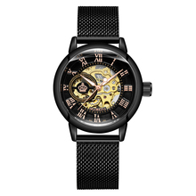 New Fashion Luxury Brand Skeleton Mechanical Watch