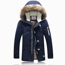 Капюшон пуховик кашемир xxxl меховой способа зимняя качества высокого куртка бренд