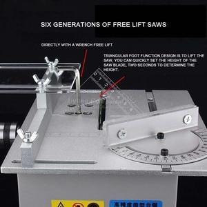 Image 3 - Scie détabli, table de précision multifonctionnelle, Miniature, micro machine de découpe T6, Q10032
