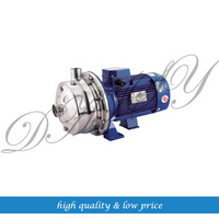 220V50HZ WB2 70 1100W Double Impeller Centrifugal Pump Miniature Stainless Steel Pressurized Water Supply For Agricultural