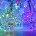 5M 20 Led Christmas Light Party Decor Hyaline Waterproof String Light Colorful Fairy Wedding Party Christmas Lights Outdoor