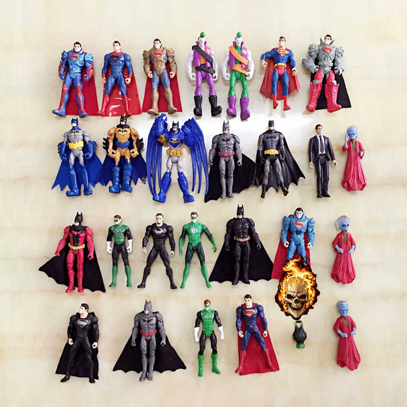 """3.75 """"Boneca Batman superman lanterna verde Para 1/10 1/12 1/16 1/14 escala RC Rock Crawler Tamiya Caminhão Carros/barcos/Aviões Modelo"""