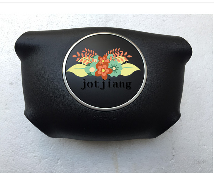 Car airbag cover for C5 A6 04 08 section of the steering wheel cover free to